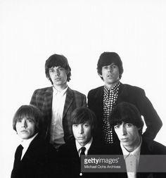 Brian Jones, Mick Jagger, Charlie Watts, Keith Richards, Bill Wyman