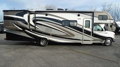 """CAREFREE RV LIVING MADE EVEN BETTER!!!  2016 Forest River Forester 3011DS Hit the road in this gas-fueled rig and discover the real meaning of adventure! Enjoy conveniences like a flip-up countertop extender and a high-rise faucet which both work to make meal prep easy! This 32' 3"""" long RV also holds a 32"""" flat panel adjustable TV and a 7"""" Bluetooth touchscreen radio.  Give our Forester expert Gabrielle Selvius a call 616-890-3879 or send an email to gabs@natlrv.com for pricing."""