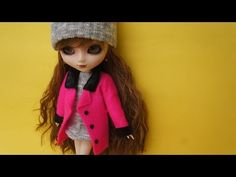 How to make doll outfit 5 Coat - YouTube