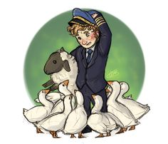 "ofcowardiceandkings: "" lil doodle rq session (closed) martin and his goose friends for cloudmelon ; Roger Allam, Cabin Pressure, Martin Freeman, Hunger Games, Make Me Smile, Harry Potter, Doodles, Princess Zelda, Writer's Block"