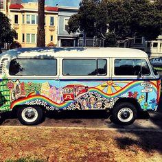 Grateful Dead VW Bus