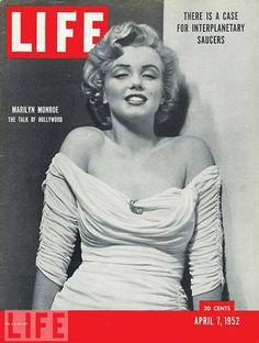 Marilyn Monroe en couverture de Life 25