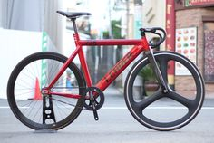 Leader Bike 735tr Red Blb Custom!