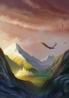 Gondolin by elbardo.deviantart.com on @deviantART