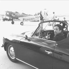 Patrick and his Porsche 1963
