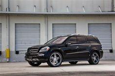 mercedes benz rims | Mercedes Benz GL on VVS078 Wheels GL- VVS078