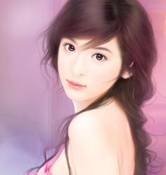 chinese art - 绘现代美女 #189