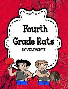 This resource is a novel study unit based on the novel by Jerry Spinelli - 'Fourth Grade Rats'. This resource has all you need to teach in-depth comprehension skills for this novel. It has many differentiated comprehension questions, lots of comprehension activities, vocabulary activities and quizzes that cover a wide range of skills.