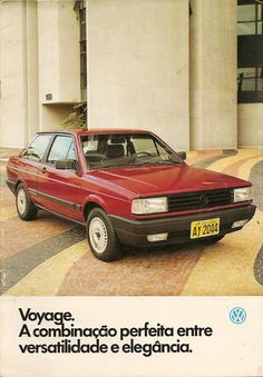 1988 VW Voyage 1.8 GLS - Brasil