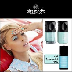 peppermint patty #63! #alessandro #alessandronails #alessandrointernational