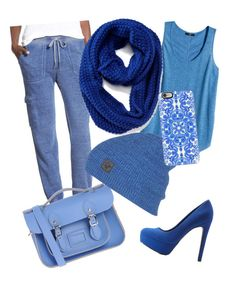 """""""Another blue"""" by brenna-mccarty on Polyvore featuring H&M, BP., Charlotte Russe, The Cambridge Satchel Company, Old Navy and Casetify"""