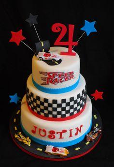 Justin's Birthday Cake! on Cake Central