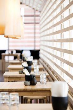Tiger Sushi @ The City of Espoo, Finland   Interior designer Joanna Laajisto