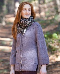 Constance Cardigan in Classic Elite Yarns Portland Tweed - Downloadable PDF. Discover more patterns by Classic Elite Yarns at LoveKnitting. The world's largest range of knitting supplies - we stock patterns, yarn, needles and books from all of your favour