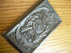 chocolate mold  antique mold  candy mold  Anton Reiche