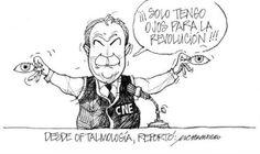 Elecciones feb. 2014: Solo tengo ojos para la Revolución. Domingo Paredes, CNE - Chamorro (La Hora)
