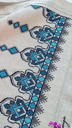 Cross Stitch Boarders, Cross Stitch Rose, Cross Stitch Flowers, Cross Stitch Designs, Cross Stitching, Cross Stitch Patterns, Swedish Embroidery, Basic Embroidery Stitches, Cross Stitch Embroidery