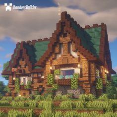 Minecraft Medieval Buildings, Minecraft Shops, Minecraft Cottage, Minecraft Structures, Cute Minecraft Houses, Minecraft Castle, Minecraft Plans, Minecraft House Designs, Amazing Minecraft