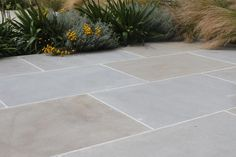 Pennant Sandstone is one of our newest products. With a subtle mixture of buff a… – Living Garden – patio Backyard Garden Design, Small Garden Design, Patio Design, Backyard Landscaping, Landscaping Design, Outdoor Paving, Garden Paving, Outdoor Flooring, Patio Slabs
