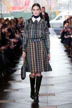 Tory Burch's F/W 17 runway show featured a standout accessory we've been seeing everywhere. Get the details, and see the collection here.