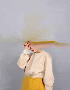 'Girl with the yellow skirt' print - Nyssa