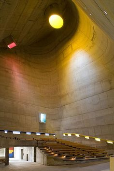 Eglise Saint Pierre, Firminy, France, 1960 - 2006 - Le Corbusier