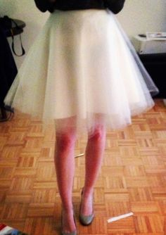 DIY Sew: Tulle Skirt - The Crafty Novice
