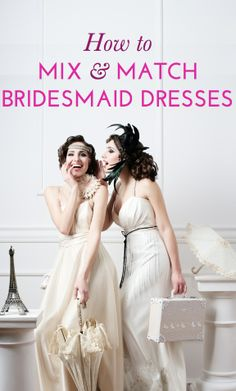 How to make non-identical bridesmaid dresses work