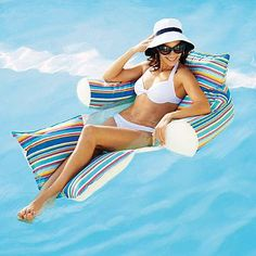 You'll never want to leave the pool when you have the Kai Eternity Chair to float on!