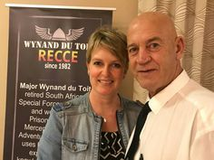 Wynand du Toit and wife Thank You Quotes For Friends, Defence Force, Military Men, Africans, Special Forces, Cold War, Army, Boat