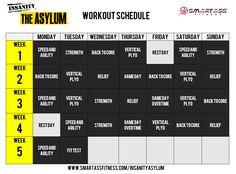 Insanity Asylum Calendar