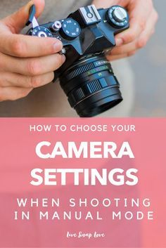 Photography Tutorial for Beginners - how to choose your settings when shooting on manual mode, along with sample images and settings, and why they work!  Full of great tips for beginner photographers. Click through to read!