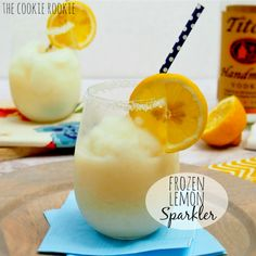 Frozen Lemon Sparklers