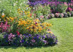 Kukkapenkin perustaminen.  Haluatko puutarhaan lisää kukkia? Viherpiha esittelee kolme tapaa, joilla kukkapenkin perustaminen onnistuu.