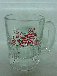 Vintage Dog N Suds Mug   eBay Best Memories, Childhood Memories, Retro Food, Glass Beer Mugs, Retro Recipes, Vintage Dog, Vintage Glassware, Iowa, Shot Glass