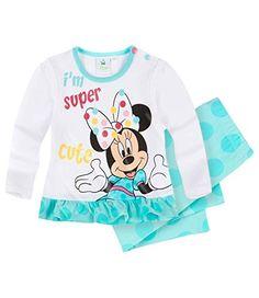 Disney Minnie Babies Conjunto camiseta y leggins - Turqueza - 6M #camiseta #realidadaumentada #ideas #regalo
