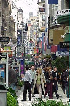 Florida Pedestrian shopping street  Buenos Aires  Agentina