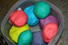 Edible Play Dough Recipe!! My toddlers love to eat play dough! Totally going to try this out!!