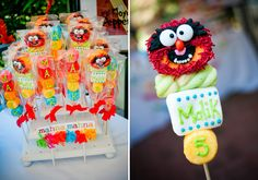 Muppets Guest Dessert Feature or a cute gift for all children present at your wedding!