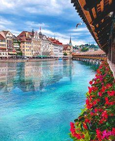 Luzern, Switzerland -Travel and Leisure Best Travel Insurance, Travel Insurance Companies, Travel And Tourism, Travel And Leisure, Travel Destinations, Travel Guide, Luzern Switzerland, Europe Centrale, France