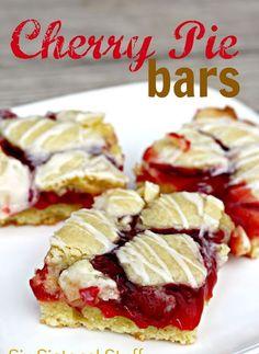 cherry pie bars