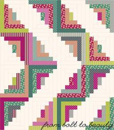 Tutorial: Still Pretty Simple Jelly Roll Quilt
