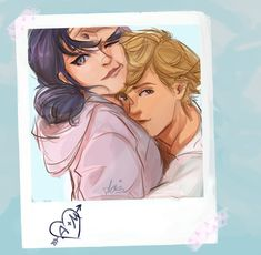 Marinette and Adrien Adrian And Marinette, Marinette And Adrien, Miraculous Ladybug Wallpaper, Miraculous Ladybug Fan Art, Lady Bug, Los Miraculous, Miraculous Fanfic, Adrien Miraculous, Ladybug Und Cat Noir
