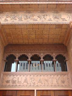 Guaranty Building, NY, USA / 1896 / Louis Sullivan