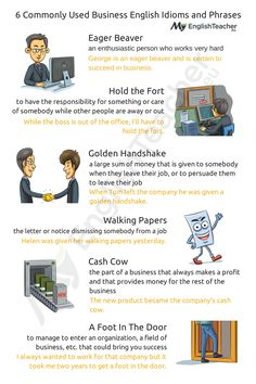 Looking for most commonly used business English idioms and phrases? Here you are: 15 business English expressions with meanings and examples just for you!