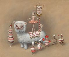 Mark Ryden Designs Sets, Costumes for Ballet 'Whipped Cream'
