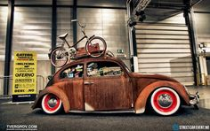 VW and bike, ready for fun