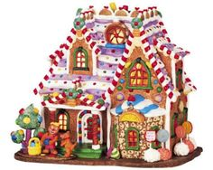 Lemax-Sugar-N-Spice-Village-Home-Sweet-Home-Porcelain-Lighted-House