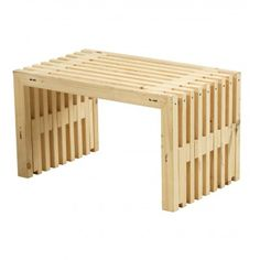 RUSTICO Plus Hocker als Loungetisch Massivholz Woodinis®