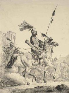"""Kurdish Prince"" (Mîr) by Alexander Orlovsky (1777-1832)"